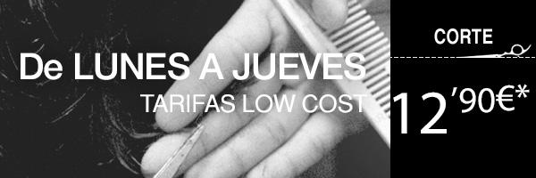 TARIFA LOW COST DE LUNES A JUEVES
